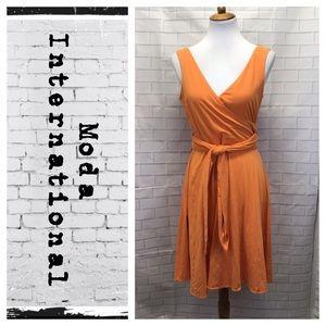 Moda International Wrap Dress